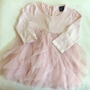 Baby gap pastel pink tulle dress 18-24M